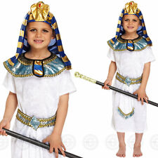 Henbrandt Egyptian Pharaoh Fancydress Costume Outfit Prince King Med 7-9yrs