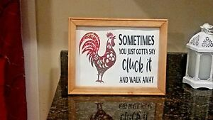 """Country Chicken """"Cluck it"""""""
