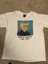 Rare Kurt Cobain Nirvana Fear Of God Jerry Lorenzo Vintage Shirt