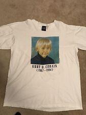 Rare Kurt Cobain Nirvana Fear Of God Jerry Lorenzo Vintage Shirt
