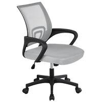 Mesh Office Chair MidBack Height Adjustable DeskComputer Chair w/ Lumbar Support