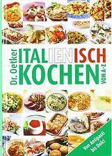 Italienisch kochen von A-Z von Dr. Oetker | Buch | Zustand sehr gut