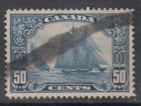 "Canada Scott #158 50 cent Bluenose ""Scroll""   VF"
