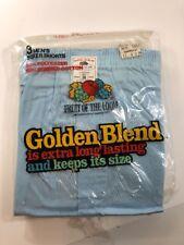Vintage Fruit Of The Loom Golden Blend Boxer Shorts Size 38