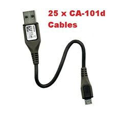 10 X Cable de carga USB Genuino Nokia CA-101d para teléfonos móviles Asha & Lumia