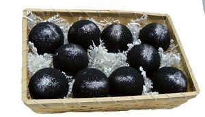 Basket of Bombs! 10 pcs. Black Bath Bombs 5.7 oz