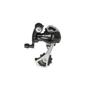 Shimano 105 5701-GS Mid-Cage Negro Desviador Trasero