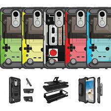 For LG K20 V   K20 Plus   K10   Grace   LG V5 Dual Layer Stand Case - Retro Game