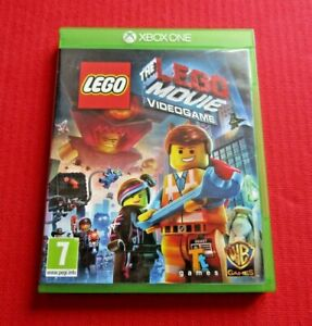 The Lego Movie Video Game Xbox One Game in case With Manual