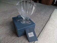 "VINTAGE Waterford LEAD Crystal 'Marquis'S VASO OVALE ""Nautic Shell"" Nuovo in Scatola"