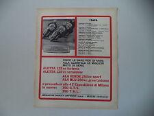 advertising Pubblicità 1969 AERMACCHI HARLEY DAVIDSON