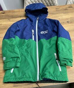 Boy's Picture Ski Jacket 9 -11 Years Snowboard