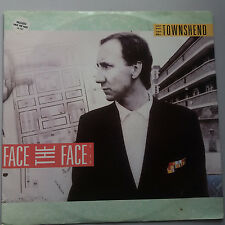 "Pete Townshend - The Who - Face the Face 12"" Vinyl Single"