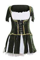 Robin Hood Fancy Dress 8 10 12 14 Ladies Fairytale Costume Elf Medieval