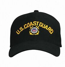 9294 Rothco U.S. Coast Guard Low Profile Cap - Black