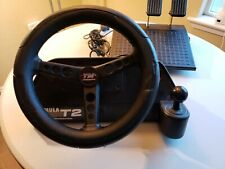 Tm Thrustmaster Formula T2 Steering Wheel & Pedals Racing Games 15-Pin Untested