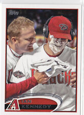 2012 Topps Ian Kennedy SP Pie in Face variation #76