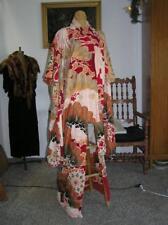 Gorgeous! Antique Vintage Embroidered Japanese Wedding Kimono Asian Cranes