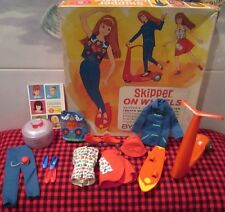 1965 MATTEL GIFTSET~JAPAN~*SKIPPER ON WHEELS*~1032~COMPLETE SET IN ORIGINAL BOX~