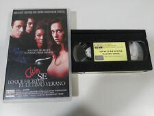 AUN SE LO QUE HICISTEIS EL ULTIMO VERANO DANNY CANNION VHS TAPE CASTELLANO