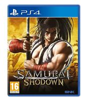 PS4 Samurai Shodown PlayStation 4
