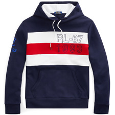 POLO Ralph Lauren 1993 CP-93 double knit hoodie Sailing Striped Hoody NWT