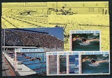 Kongo ( Brazzaville ) 1076/79 Block 41 +Sonderblöcke postfrisch/ Olympiade 1/974