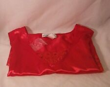 "RED SATIN AND LACE CHEMISE TEDDIE 18W NEW by ""DEMIN 24/7"""