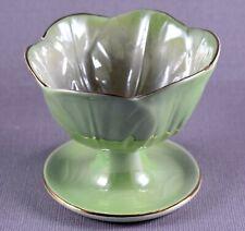 More details for rare vintage maling sundae bowl green lustre 1920-1963