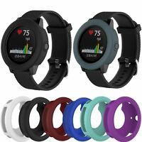 Silicone Band Case Protect Cover For Garmin Vivoactive 3 Smart Watch Replacement