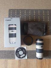 Canon EF 70-200 mm f/4 Objectif L USM