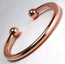 Mens And Ladies Pure Solid Copper Torque Magnetic Bangle Bracelet Heavy (BG45)