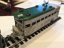ULRICH HO SCALE  RAIL BUS TRAILER ALL METAL HIGHLY DETAILED
