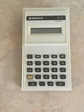 Vintage Sanyo CX-111 Calculator - Tested Free Shipping
