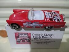 Matchbox 2006 DALKE'S THEATRE FAMILY DRIVE-IN VA 1957 Ford Thunderbird New Boxed