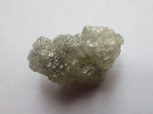 8.56 Carats WHITE/SILVER Natural Uncut Raw ROUGH DIAMONDS