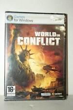 WORLD IN CONFLICT GIOCO NUOVO SIGILLATO PC DVD VERSIONE ITALIANA GD1 43677