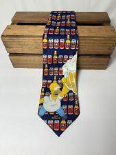 The Simpsons Tie Duff Beer Homer Lovers Cartoon Novelty Can Mug Necktie Bart