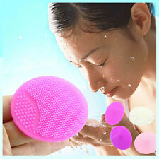 Silicone Wash Pad Face Exfoliating Blackhead Facial Cleansing Brush Beauty Tool
