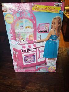 New Barbie Gourmet Kitchen Life Size Playset W/Sound Effects