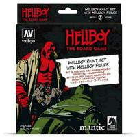 AV Vallejo Hellboy Paint Set With Resin Figure Acrylic Paint Set For Models