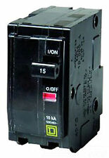 Square D Qo215 Miniature Circuit Breaker 120/240Vac 15A