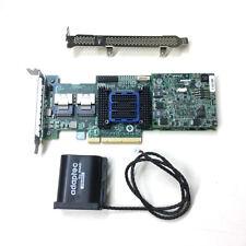 Adaptec ASR-6805T 8 Ports PCIE2 x8 512MB Cache SAS 6Gb Raid Controller + Battery