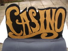 More details for lovely casino sign - fun casino backdrop wedding party event stag hen night - 1