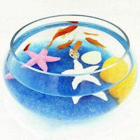 1 Bag Aquarium Fish Tank Crystal Gravel Pebbles Stones Decor CL UKPL Sa G F7N8