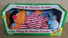 LM VINTAGE 1996 Tyco Sesame Street Sing & Snore Ernie Sleeping Plush Toy NEW NIB