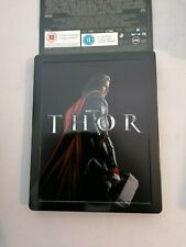 THOR BLU RAY STEELBOOK VERY RARE HMV EXCLUSIVE NEW/SEALED COME WITH BACKING CARD
