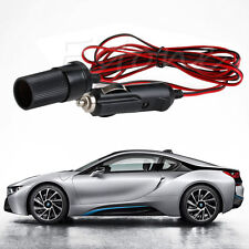 12V DC 3M Car Cigarette Lighter Power Plug Socket Cord Adapter Extension Cable