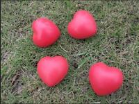 Heart Shaped Exercise Stress Relief Squeeze Elastic Rubber Soft Foam Ball S6