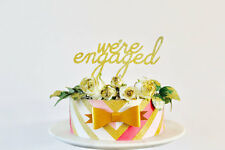 were engaged Cake Topper engagement party decoration